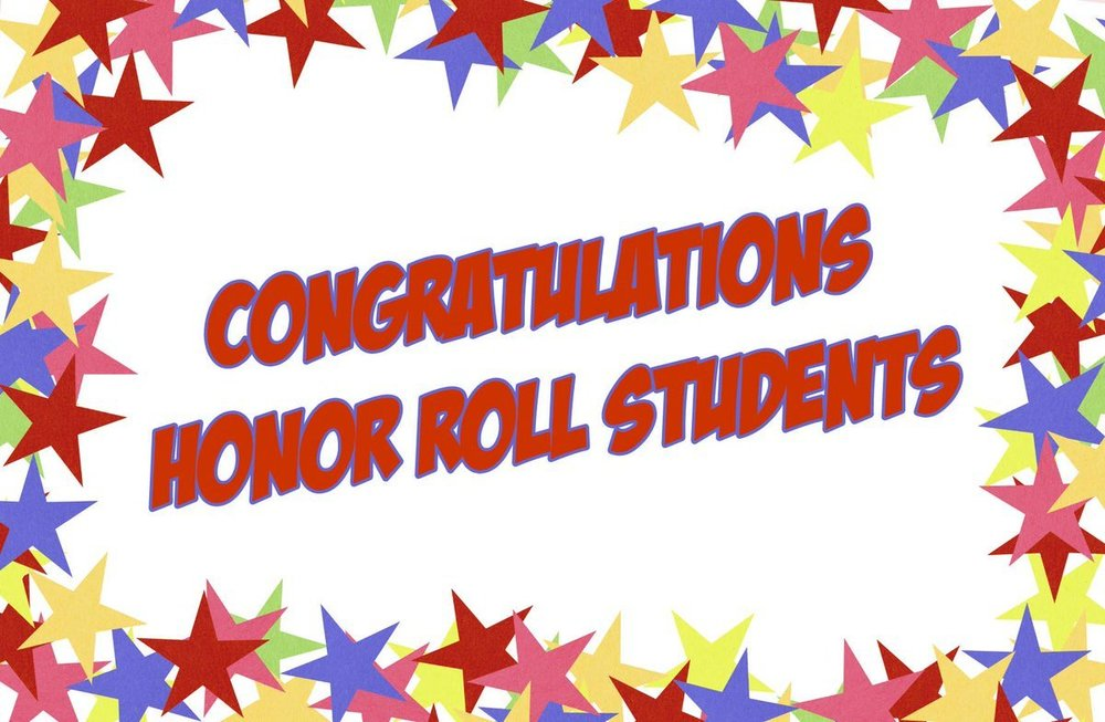 Q3 Middle School Honor Roll