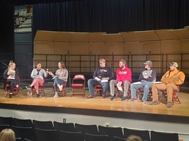 Alum return to Central for College & Career Panel