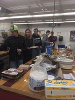 FFA Serves Breakfast to Staff