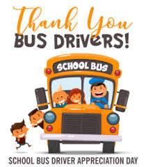 Thank you Bus Drivers