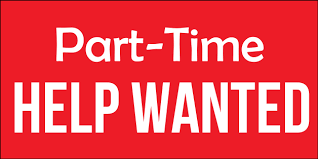 part time help wanted